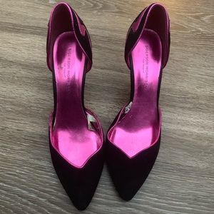 Electric Pink ⚡️ Black heels
